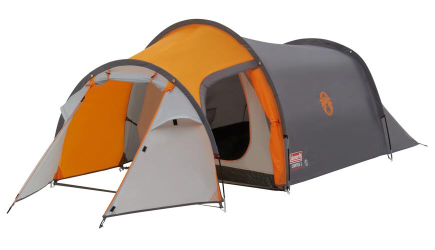 Coleman Cortes 2 tent 2 personen grijs/oranje